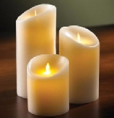 LED Candle Light, Paraffin Wax with Fragance