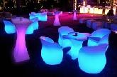 LED Glow Light Furniture