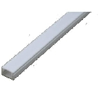 Flat Recessed Type LED Track, Clip-on/Slide-on, With/Without Wing: 1M/pc www.LEDprofile.com.sg