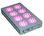 360W 516x282x70mm LEDprincess Grow Lights (LP-GL-8R360W3) - www.LEDgrowlight.com.sg